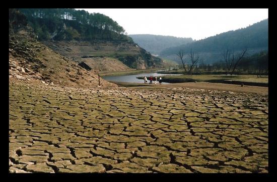 Lac à sec près KERMADEC 1985 CP Soeur Geneviève